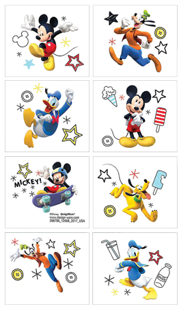 Mickey Mouse Party Tattoos NZ