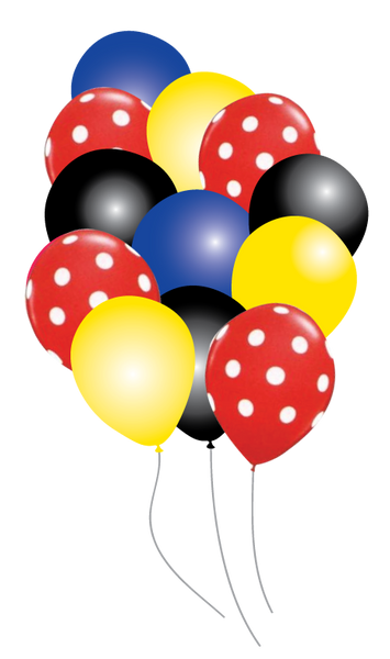 MIckey Mouse Party Balloons