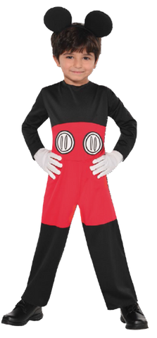 Mickey Mouse Costume 3-4yrs