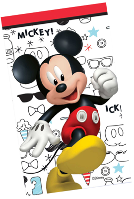 Mickey Mouse Notepads