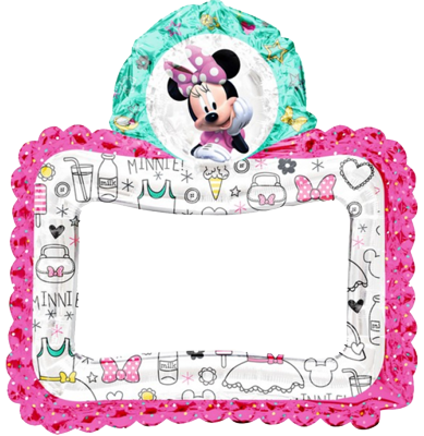 Minie Mouse Inflatable Photo Frame NZ