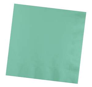 Mint Party Napkins pk50
