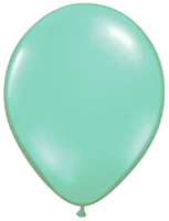 Mint Balloons Single