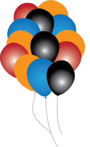 Mudslinger Party Balloons