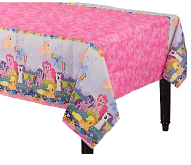 My Little Pony Paper Table Cloth