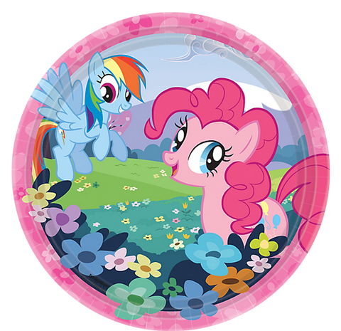 My Little Pony Party Lunch Plates
