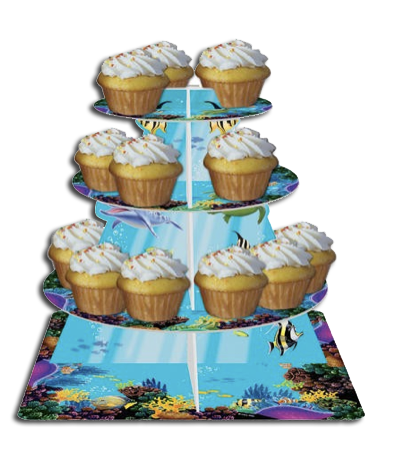 Ocean Party Cupcake Stand