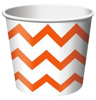 Orange Treat Cups