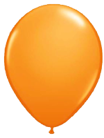 Bright Orange Balloon - Single