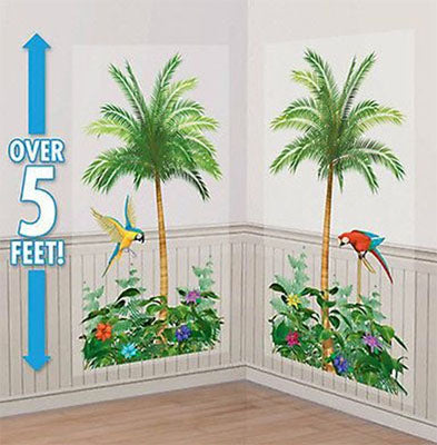 Palm Tree Scene Setter Wall Decorations NZ