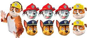 Paw Patrol Party Masks NZ