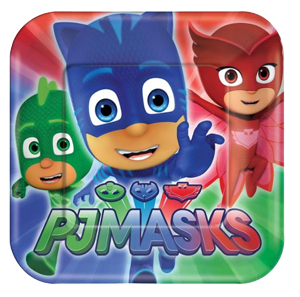 PJ Masks Small Party Plates