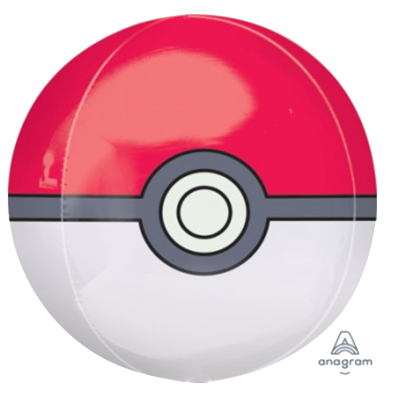 Pokemon Pokeball Orbz Foil Balloon