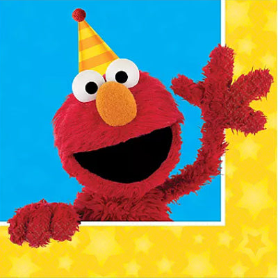 Sesame Street Party Napkins NZ