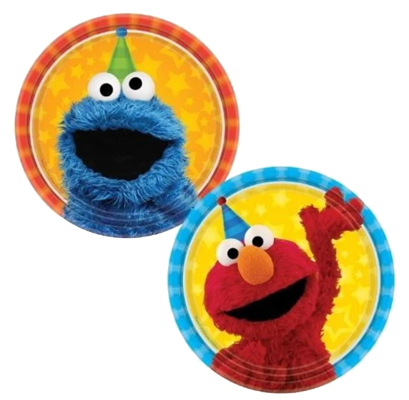 Sesame Street Lunch Plates NZ