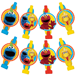 Sesame Street Party Blowers