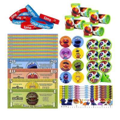Sesame Street Party Favour Pack NZ