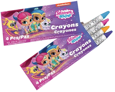 Shimmer and Shine Crayons