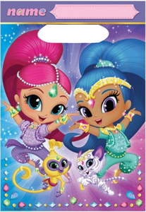 Shimmer and Shine Loot Bags pk8