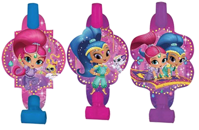 Shimmer and Shine Party Blowers NZ