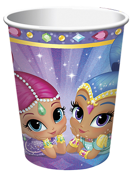 Shimmer and Shine Party Cups