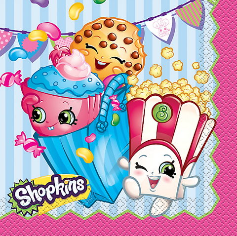 Shopkins Party Lunch Napkins