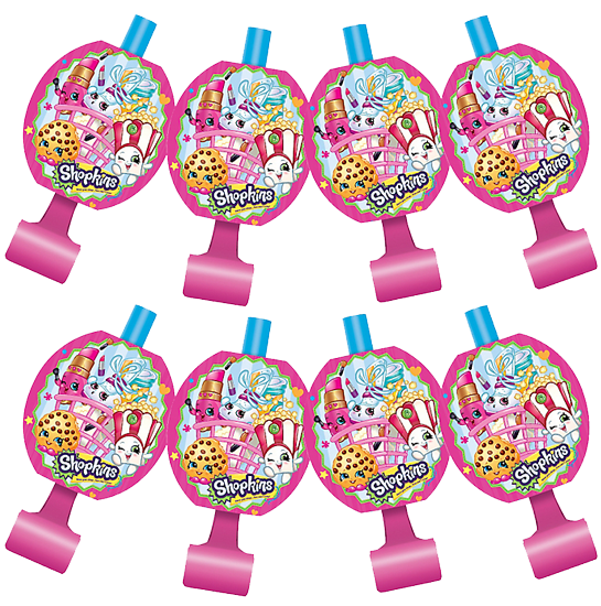 Shopkins Party Blowers