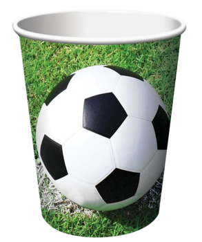 Soccer Party Cups