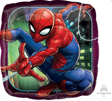 Spiderman Party Foil Balloon 45cm