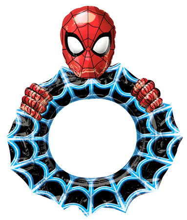 Spiderman Inflatable Photo Frame