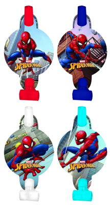 Spiderman Party Blowers