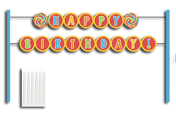 Sugar Buzz Cake Banner Kit