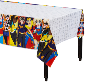 Super Hero Girls Table Cloth
