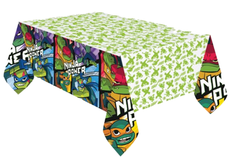 Teenage Mutant Ninja Turtles Plastic Table Cloth