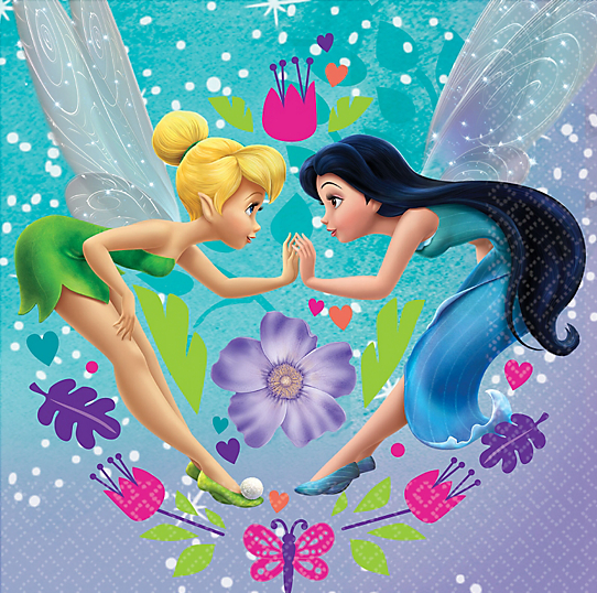 Tinkerbell Friends Lunch Napkins