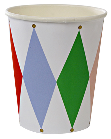 Toot Sweet Harlequin Party Cup