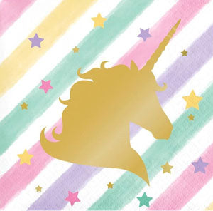 Unicorn Sparkle Party Lunch Napkins