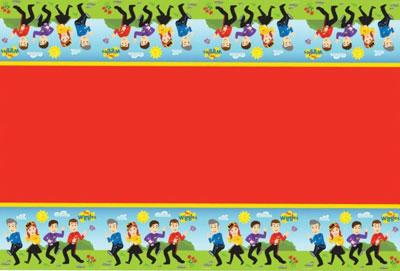 The Wiggles Plastic Table Cloth
