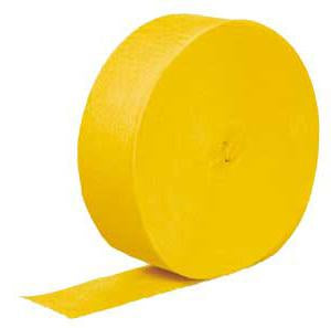 Yellow Paper Streamer
