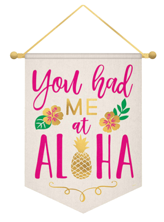 Aloha Tropical Wall Hanging NZ