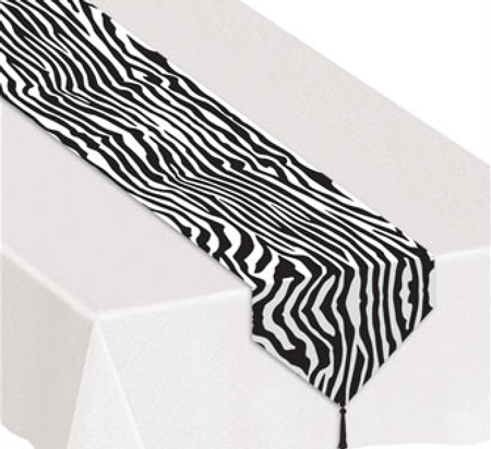 Zebra Table Runner