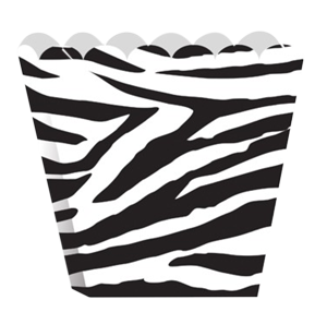 Zebra Jungle Treat Boxes