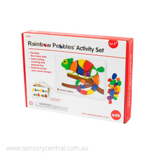 Load image into Gallery viewer, Rainbow Pebbles Activity Set - 13206
