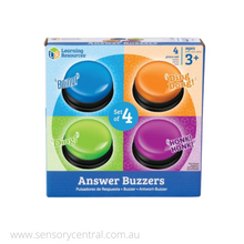 Load image into Gallery viewer, Answer Buzzers (Set of 4)