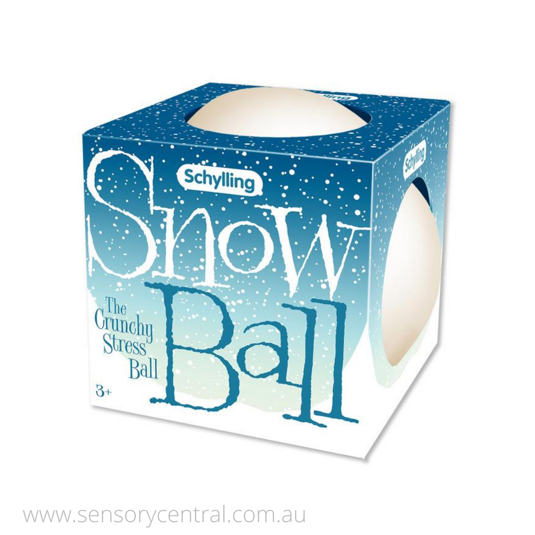 Schylling Crunchy Snow Ball