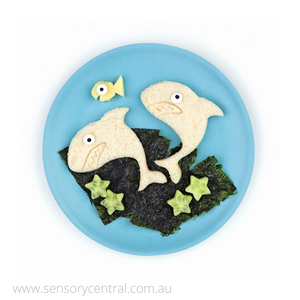 Lunch Punch Shark Sandwich Cutters