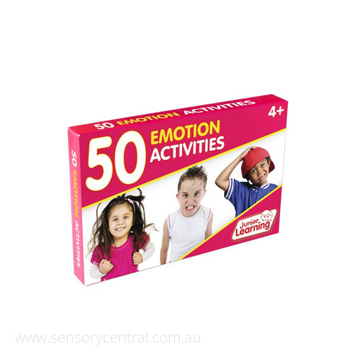 50 Emotion Activity Cards - Emotions