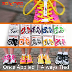 Greeper Laces - Once applied always tied! - Laces