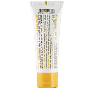 Jack n Jill Natural Banana Flavour Toothpaste 50g -