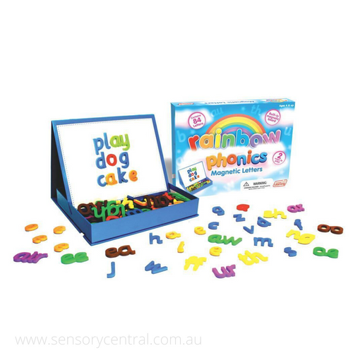 Rainbow Phonics Magnetic Letters - Literacy